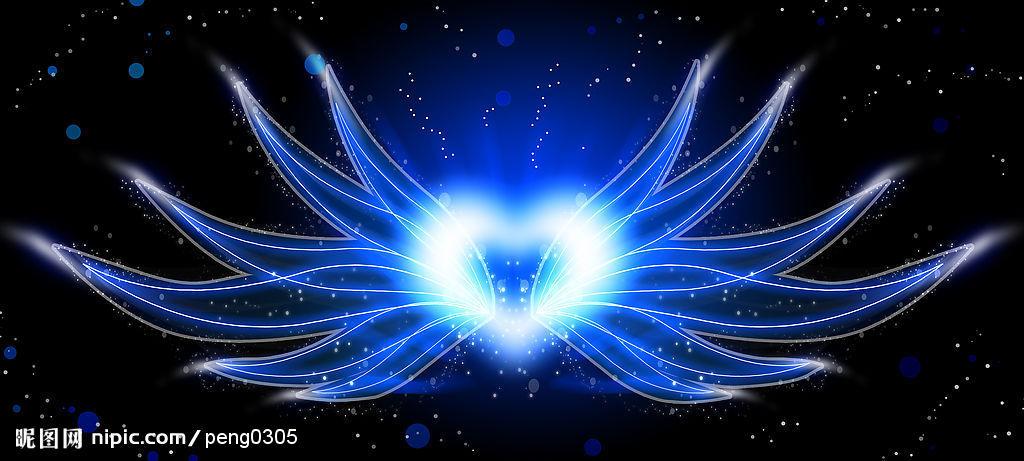 梦幻底图素材翅膀