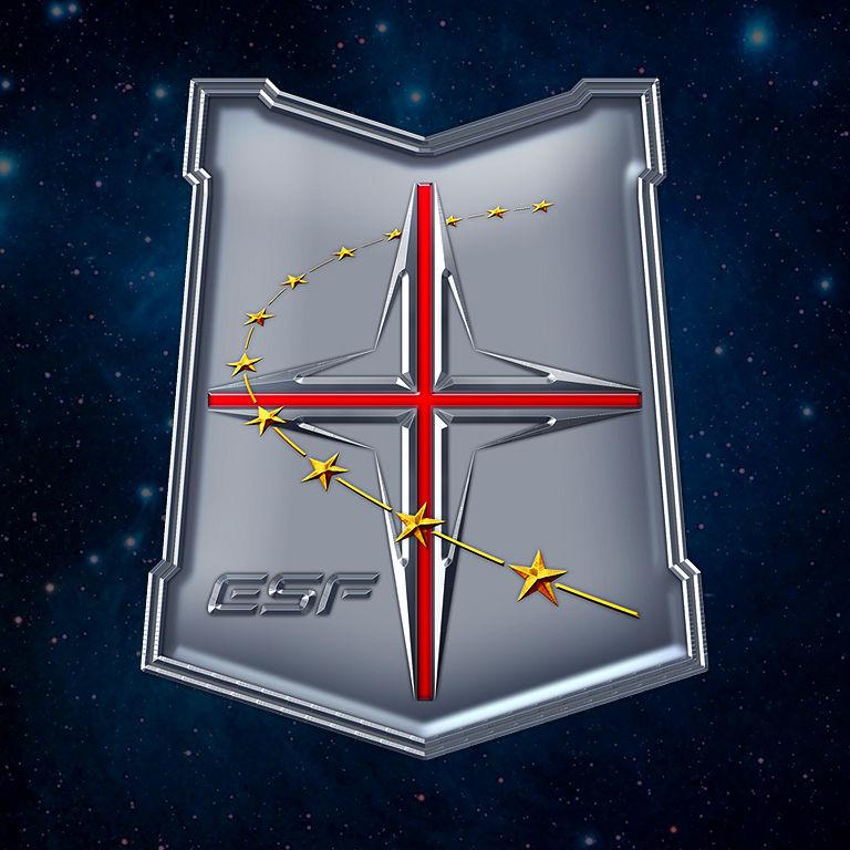 描述:地球联邦十字军徽章